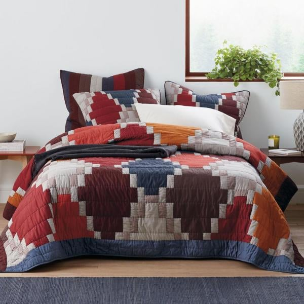 The Company Store Mosaic Multi Queen Quilt