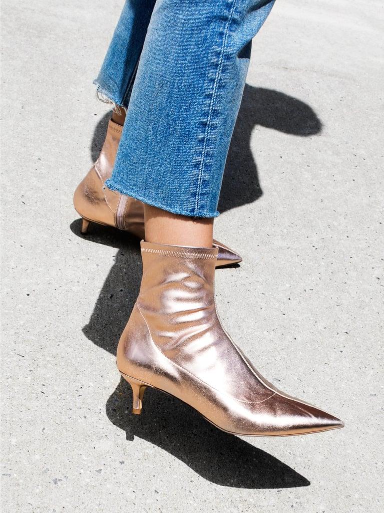 6af7e6cbaf1 Free People Marilyn Kitten Heel Boot | Shoes on Sale 2018 | POPSUGAR ...