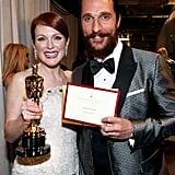 Julianne Moore and Matthew McConaughey