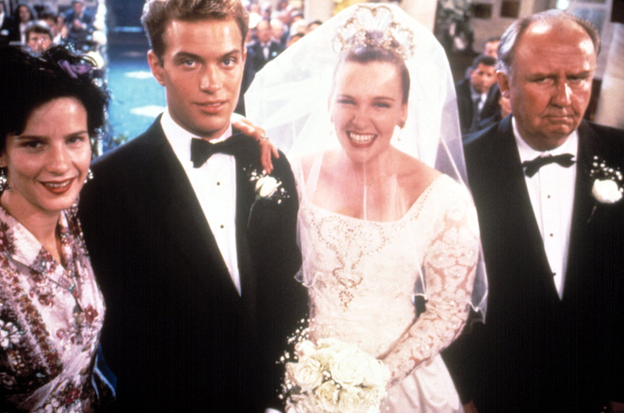 MURIEL'S WEDDING, Rachel Griffiths, Daniel Lapaine, Toni Collette, Bill Hunter, 1994, (c) Miramax/courtesy Everett Collection