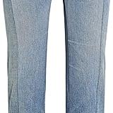Vetements Paneled Distressed High-Rise Straight-Leg Jeans ($1,395)