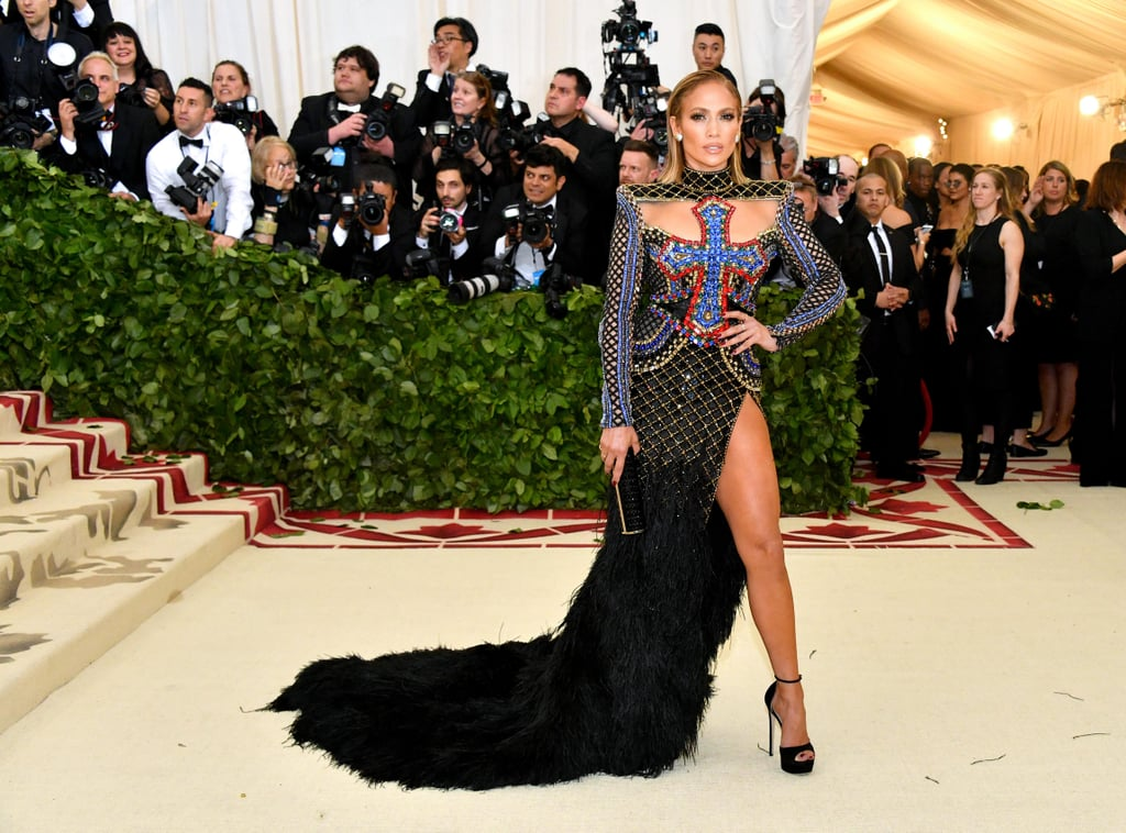 Jennifer Lopez's Met Gala Dress 2018
