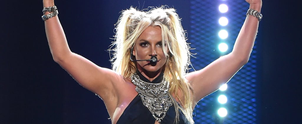 Britney Spears Works It Out With a Medley of Her Greatest Hits at the iHeartRadio Music Festival
