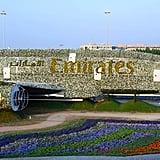 المجسم الأكبر في العالم المصنوع من الورود في حديقة ميراكل دب