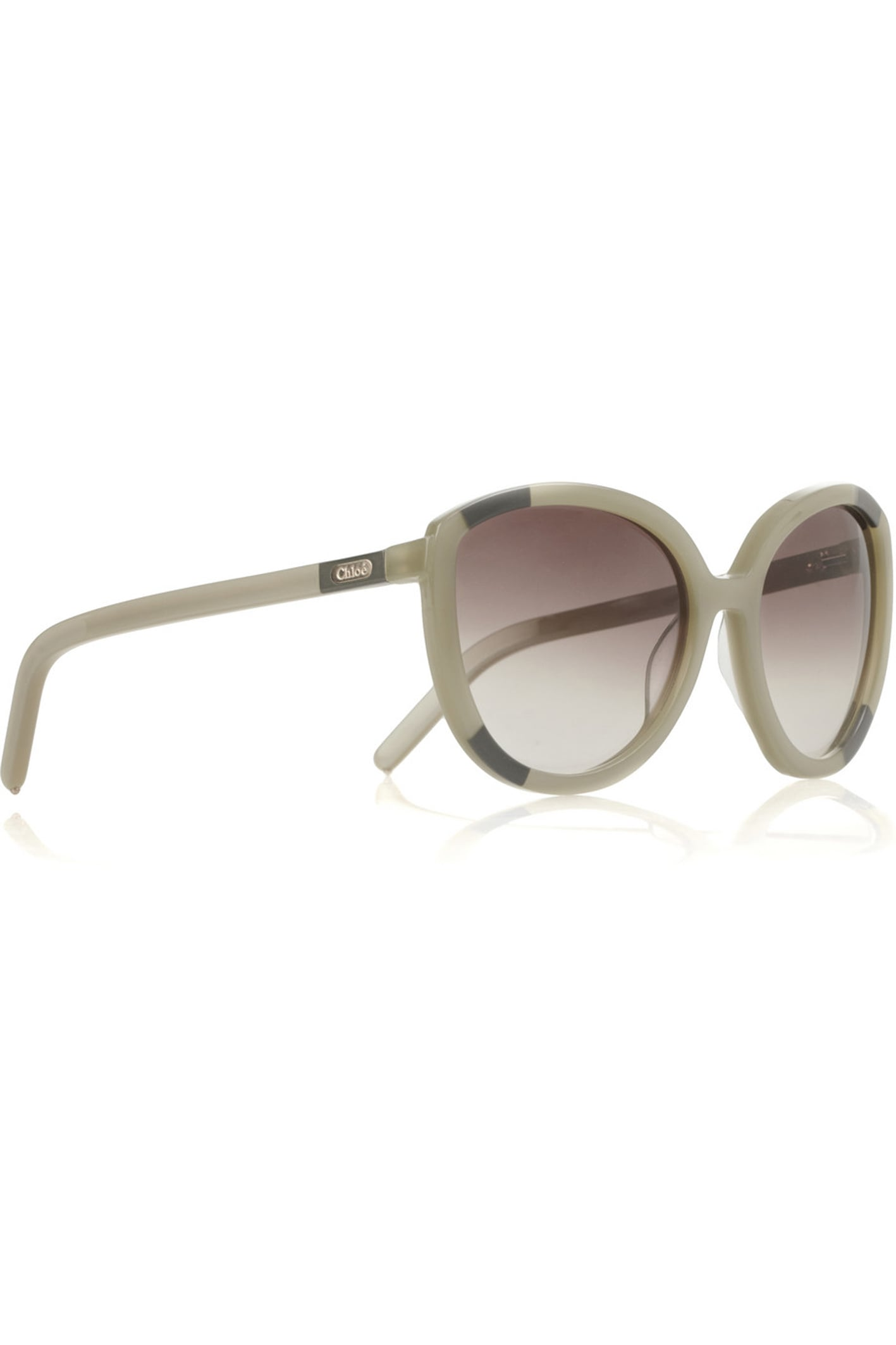 Cat Eye Frame Acetate Sunglasses