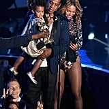 Blue Nearly Steals the Show During Beyoncé's Big VMAs Performance