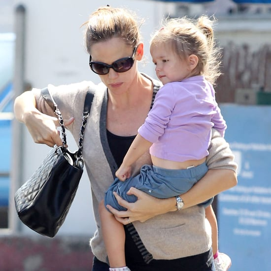 Pregnant Jennifer Garner Carrying Seraphina Pictures