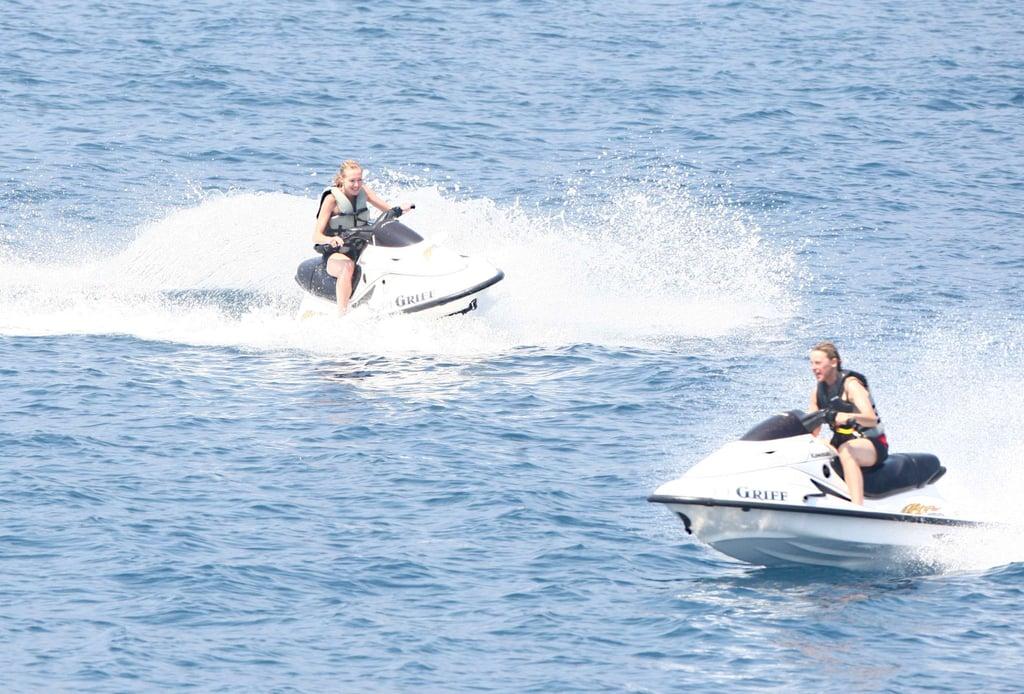 Ellen Degeneres Doing Water Sports