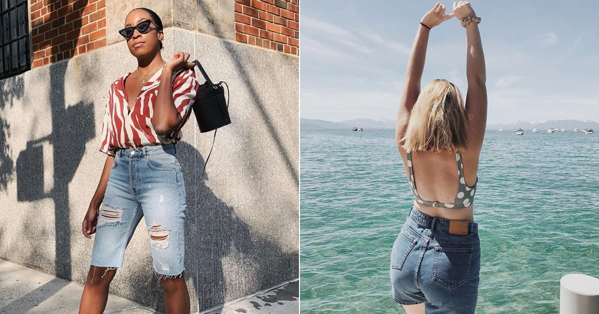 The Ultimate Guide to Denim Shorts by Body Type
