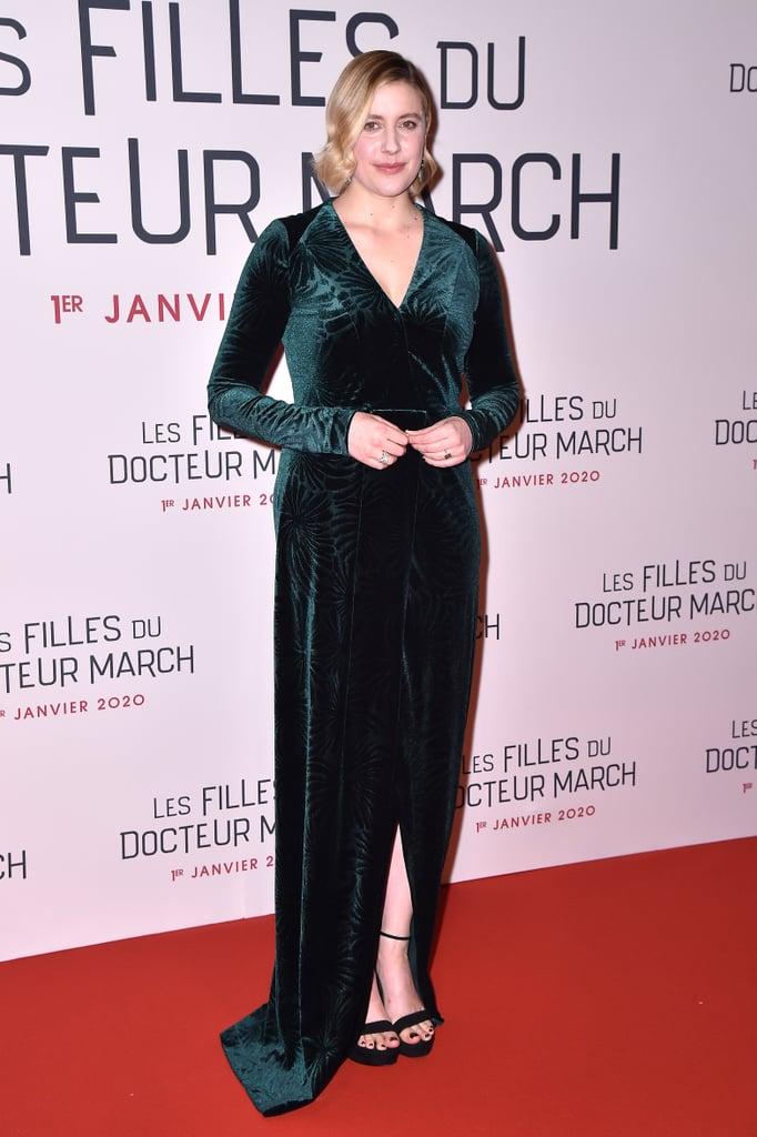 Greta Gerwig at the Little Women Premiere in Paris
