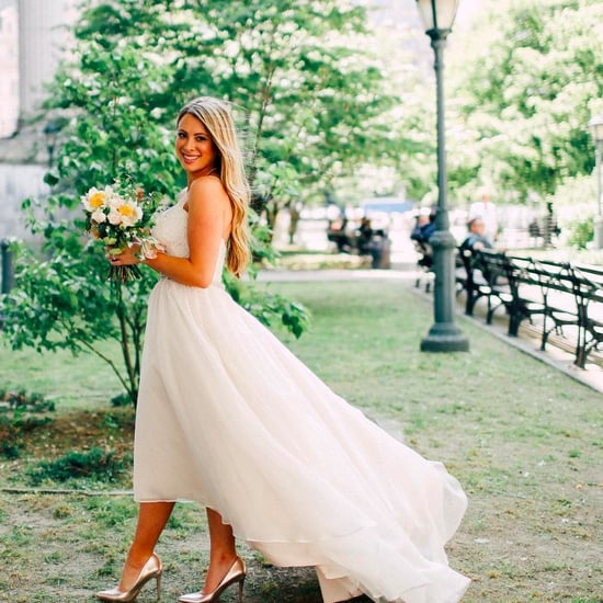 Married in New York Wedding Dress Instagram