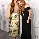 Lisa Marie Presley and Her Daughters  Red Carpet 2017