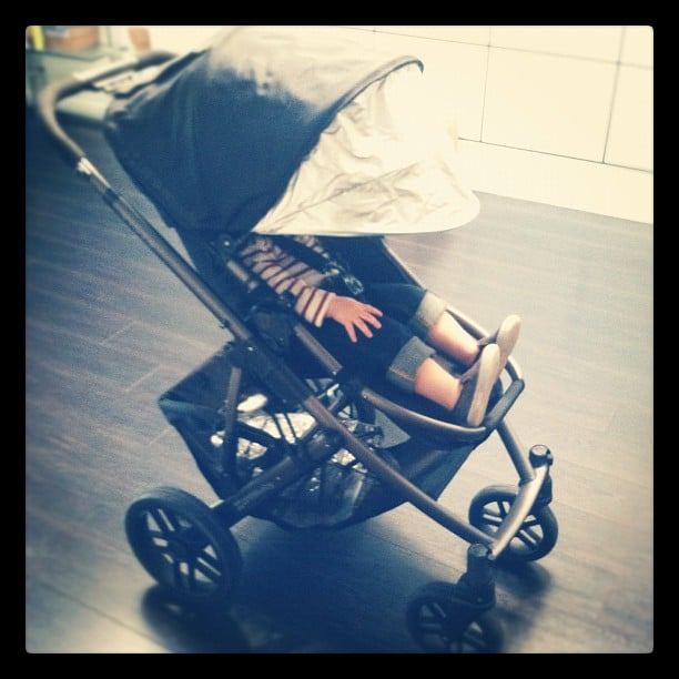 Rachel Zoe showed off Skyler's new ride — an UppaBaby Vista. Source: Instagram user rachelzoe