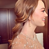 Emma Stone's Hair at 2019 Golden Globes