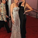 Hilary Duff and Fergie practically glowed while posing at the 2008 event.