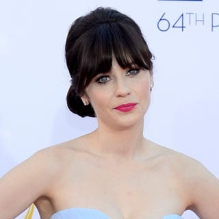 Pictures of the Best Celebrity Hair and Makeup Looks at the 2012 Emmy Awards From Christina Hendricks, Zooey Deschanel and More