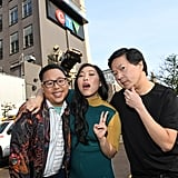 Nico Santos, Awkwafina, and Ken Jeong