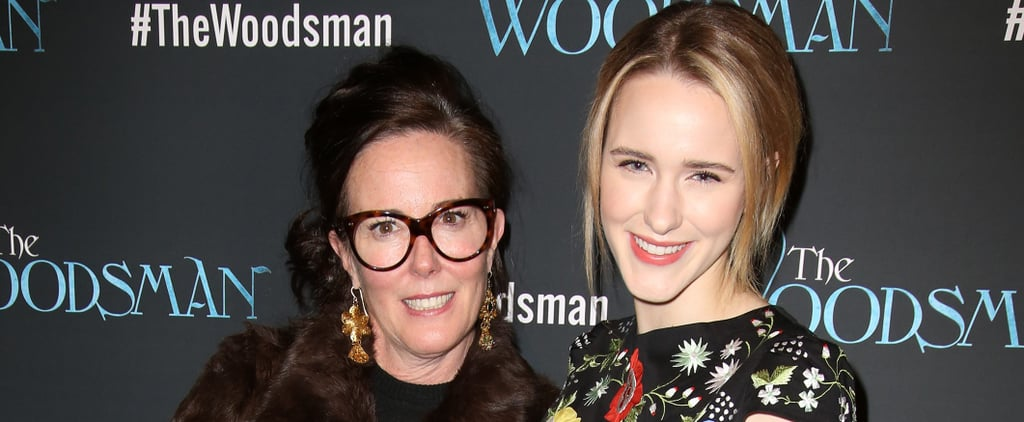 Rachel Brosnahan Tribute to Kate Spade's Father