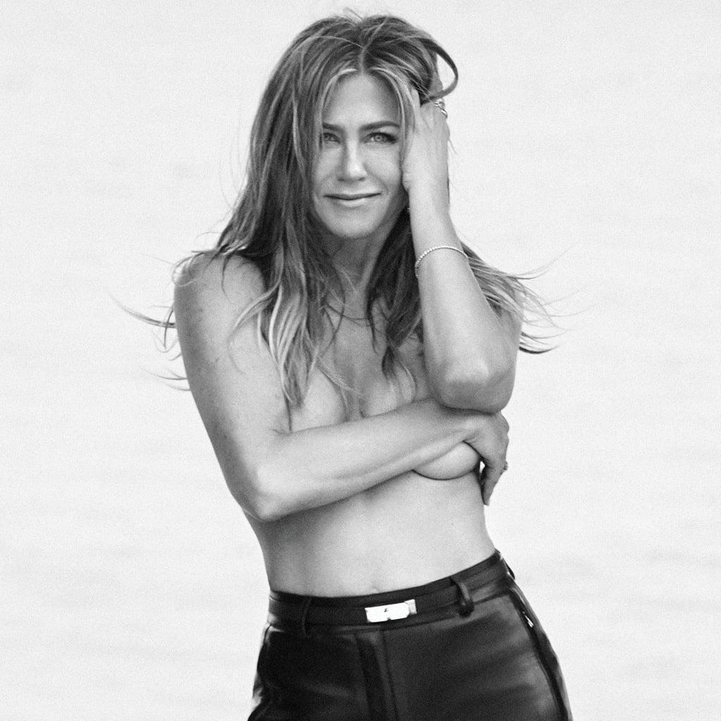 6f808572659 Jennifer Aniston Harper's Bazaar June/July 2019 Cover | POPSUGAR Celebrity