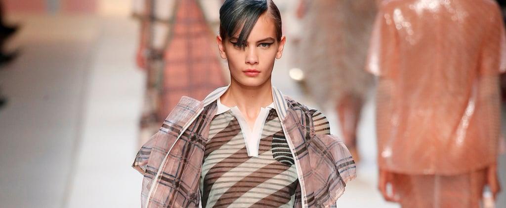 The Runway Belongs to Danish Model Nina Marker This Fashion Month