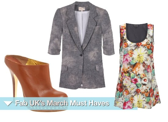 Must Have Items for March 2010