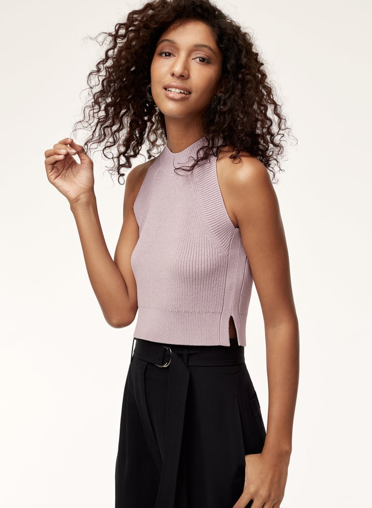 Wilfred Crevier Knit Top | Best Aritzia Spring Clothes 2018 ...