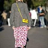 Winterize a Favorite Skirt or Dress