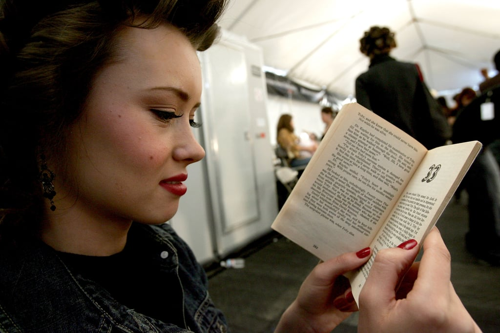 This model came to chapter 33 of her book at a show in Culver City.