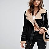 Boohoo Aviator Jacket