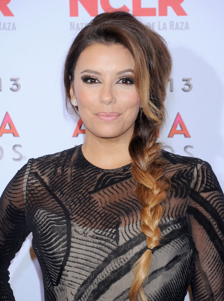 Celebrity Hair Side Braids Popsugar Beauty Australia