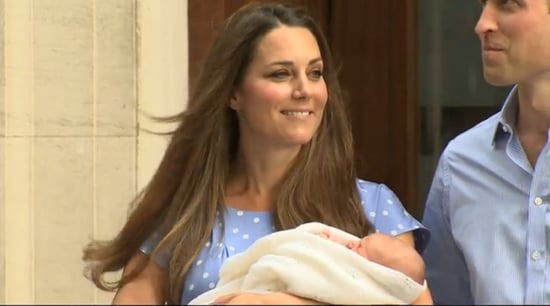 Kate-Middleton-glowing-when-she-held-royal-baby-while-leaving