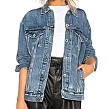 Tsher Oversize Denim Jacket