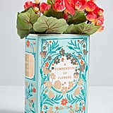Chronicle Books A Compendium of Flowers Ceramic Vase