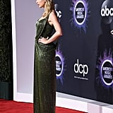 Taylor Swift's Dress and Boots at the American Music Awards