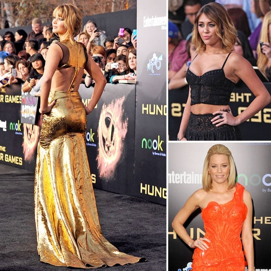 Jennifer, Miley, and More — See All the Stunning Looks From The Hunger Games' LA Premiere!