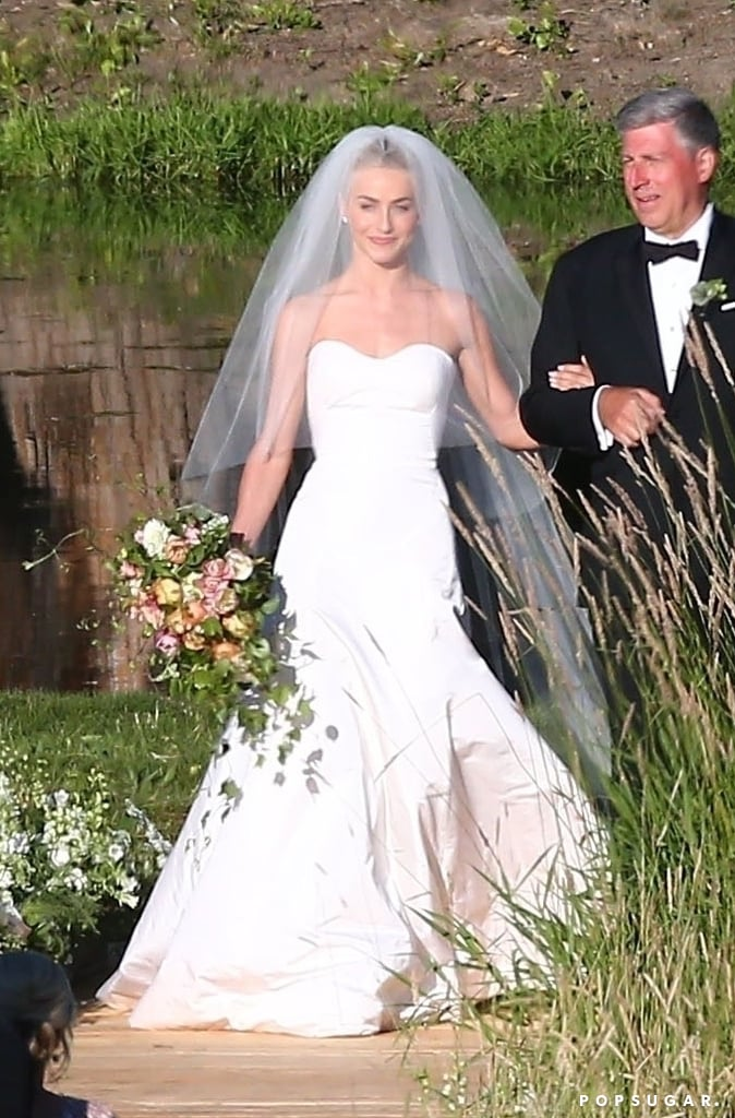 Julianne Hough Marchesa Wedding Dress | POPSUGAR Fashion Photo 3