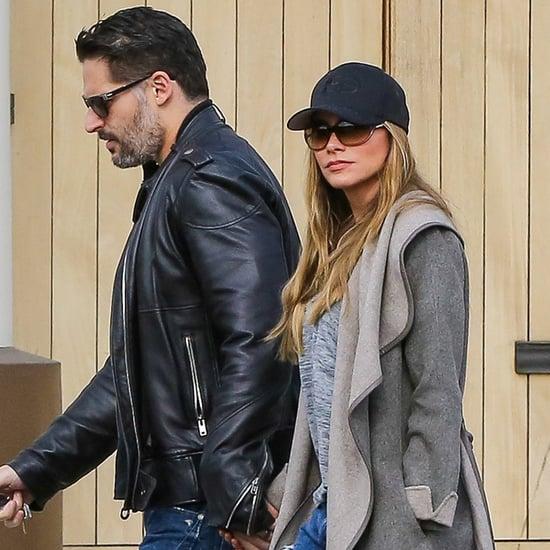 Sofia Vergara and Joe Manganiello Out in LA December 2015