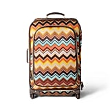 Missoni Zig Zag Print Four-Wheel Rolling Suitcase