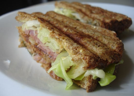 Ham and Cabbage Reuben