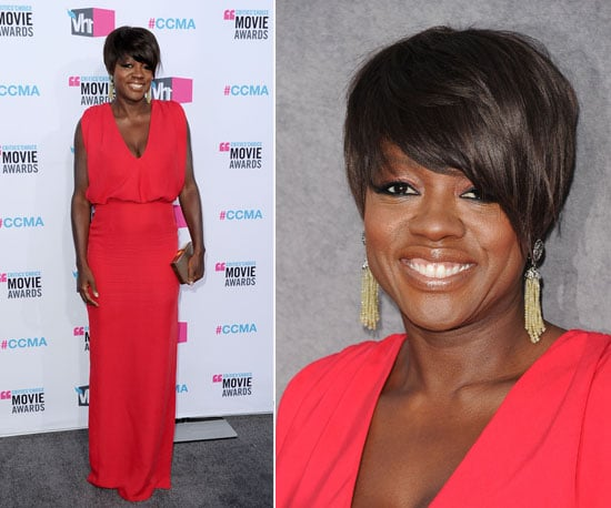 Viola Davis at Critics' Choice 2012