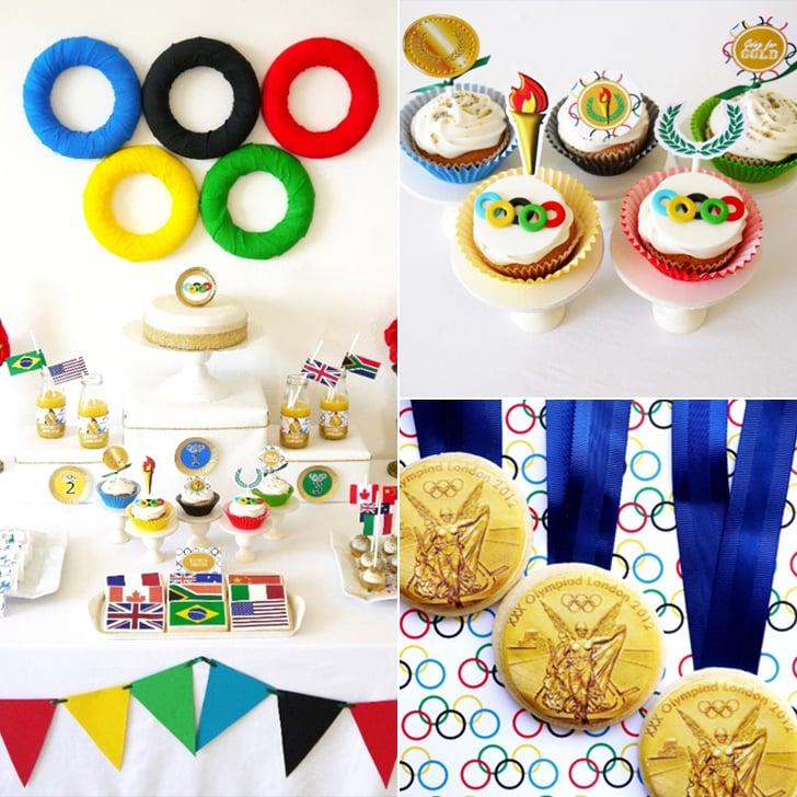 Olympics Birthday Party Ideas Popsugar Moms