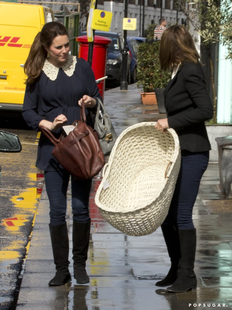 Kate Middleton Preps For Baby With Her Mom's Help