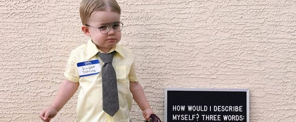 Jenna Fischer Shares Boy Dressed as Dwight For Halloween