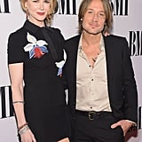 Keith Urban and Nicole Kidman cozied up to each other at Nashville's BMI Country Awards on Tuesday night.