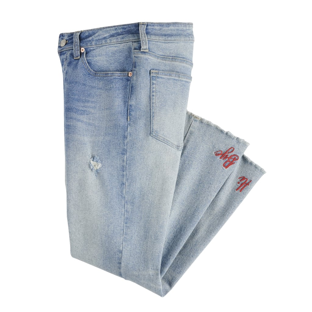 High-Waisted Kick Flare Jeans