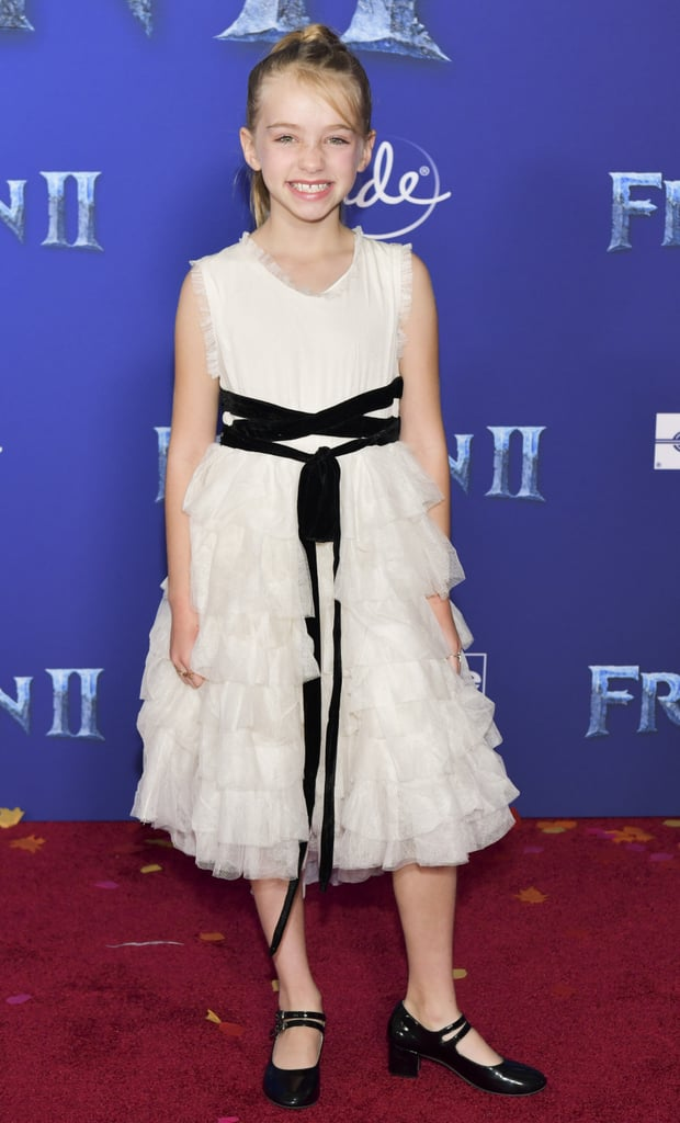 Kingston Foster at the Frozen 2 Premiere in Los Angeles