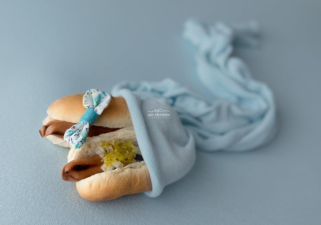 Baby Photographer Takes Newborn Photos of Food