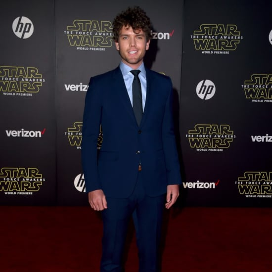 Taylor Swift's Brother at the Star Wars Premiere in LA