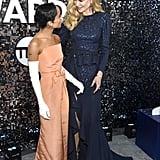 Zoë Kravitz and Nicole Kidman at the 2020 SAG Awards