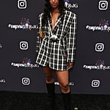 Honey at Instagram's 2020 Grammy Luncheon in LA